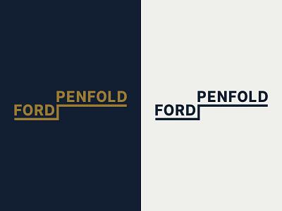 Ford Penfold Logo subterranean wordmark typography logo design logodesign logo identity graphic design design corporate design corporate branding branding design branding