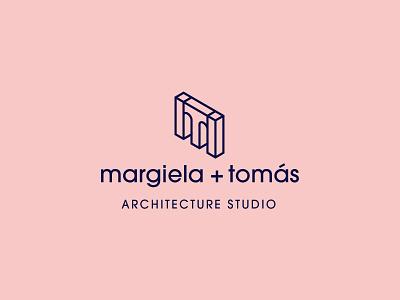 m+t identity design branding isometric mark logo identity