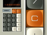Abatron Calculator Buttons