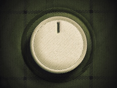 Fabric knob