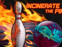 Incinerate - Arson Bowling Ball