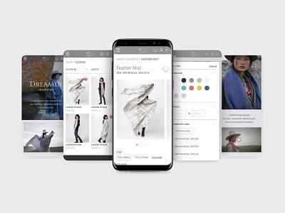 Norlha Tibet Shopify Website shopify desktop design mobile design mobile ui sustainability web branding ux ui design
