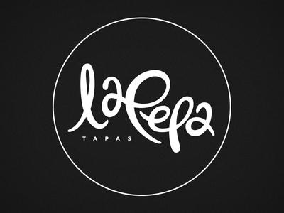 La Pepa Tapas bar tapas spanish pepa food lettering