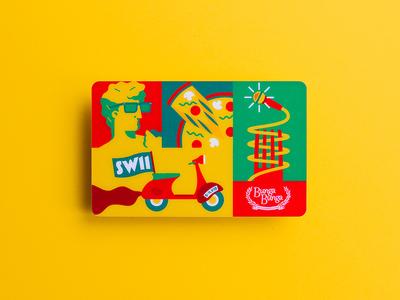 Bunga Bunga - SW11 Card
