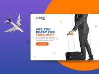 Goibibo Landing Page Concept | Re-imagined