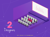 Two Dribbble Invite to Giveaway