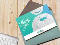 Greeting Card Template Mockup | Branding