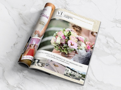 The Village Hotel weddings magazine advert wedding advert