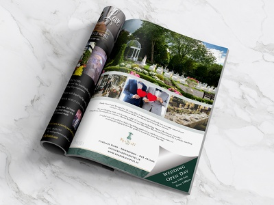 The Keadeen Hotel weddings magazine advert wedding advert