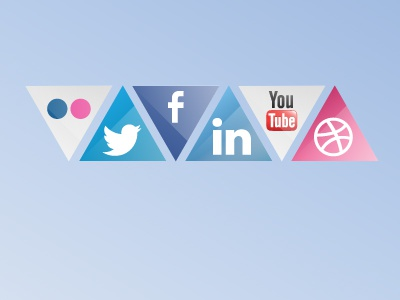 Download Triangle Social Icons triangle social icons triangle social icons