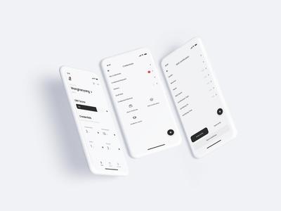 ONTO Data Wallet 3.2 Update landingpage app ux wallet minimal bitcoin ui minimalist btc crypto blockchain