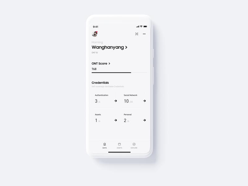 Data Wallet Homepage landingpage app ux wallet minimal bitcoin ui minimalist crypto btc blockchain