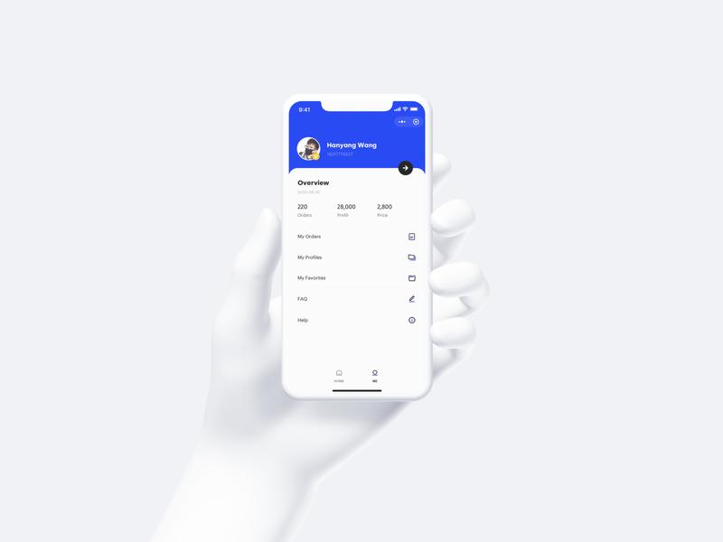 Personal Page landingpage app ux wallet minimal ui bitcoin minimalist crypto btc blockchain