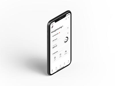 ONTO Wallet DATA Page app wallet ux minimal ui bitcoin minimalist crypto btc blockchain
