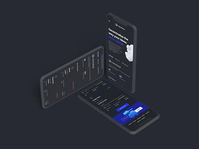 OpenOcean IDO Watchlist for Mobile ico ido currency exchange defi landingpage app wallet ux minimal ui bitcoin minimalist crypto btc blockchain