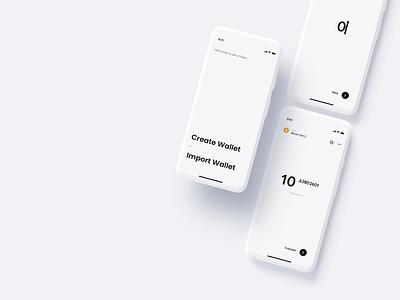 urToken - Crypto Payment Wallet pay payment landingpage app wallet ux minimal ui bitcoin minimalist crypto btc blockchain