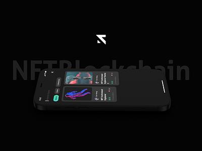NFT Wallet - Dark Theme exchange nft currency defi app wallet ux ui minimal bitcoin crypto minimalist btc blockchain