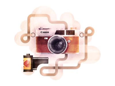 Say Cheese flash lens film canon kodak camera