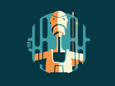 Starwars Droids 7 of 8 spaceship space droids robots death star jedi star wars science fiction stap