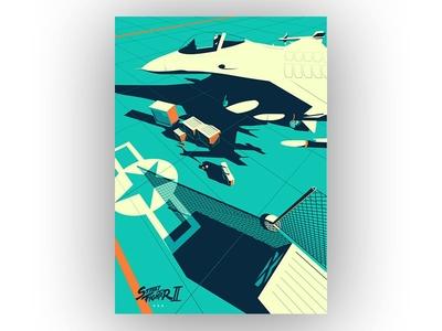Streetfighter 2 - USA fan art game art poster capcom japan streetfighter