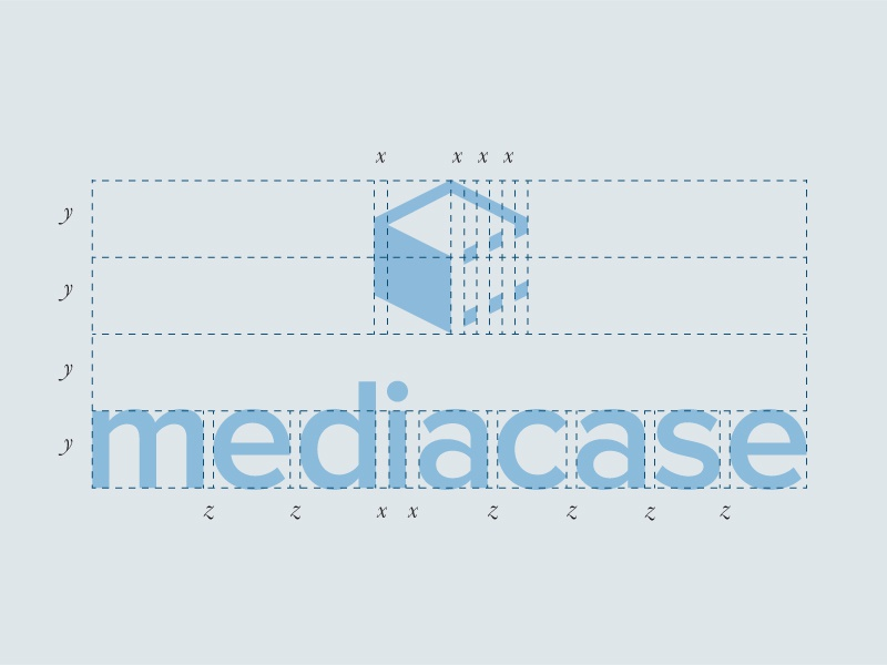 Mediacase Logo logo mediacase clean corporate
