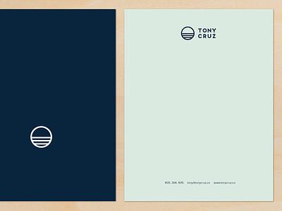 Letterhead Design branding letterhead surf photographer