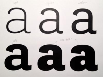 Brignell Slab Xbold lettering design typography type