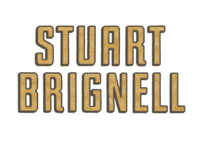 Stuart Brignell branding design typography type logo lettering