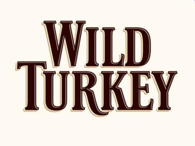 Wild Turkey type branding typography design lettering logo