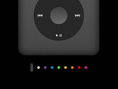 iPod Classic Color Switcher spotify color palette ipod