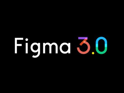 Figma 3.0 Logo