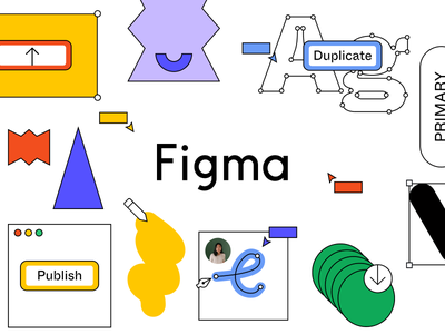 Beyond Multiplayer: Building a Community Together in Figma figmadesign color typography browser figma education branding illustration design