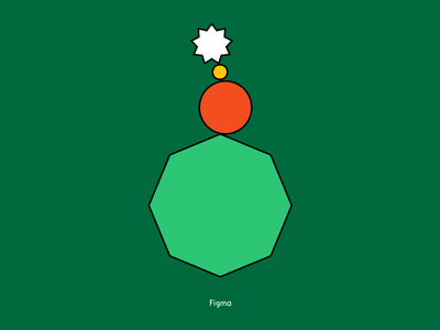 Figma Happy Holidays card holidays branding figma illustration design