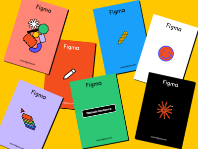 New Pins 2020 figmadesign illustration figma color branding design