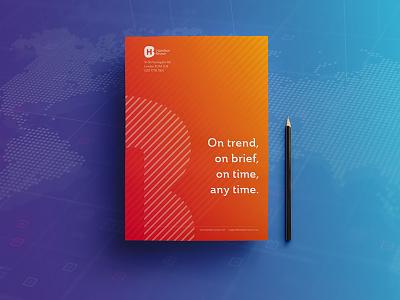 Promotional Flyer strategy global orange flyer advertising
