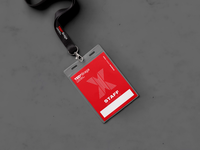 TEDxBraga 2018 Identity Card Holder