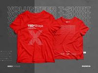 TEDxBraga 2018 Volunteer T-shirt