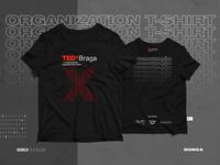 TEDxBraga 2018 Organization T-shirt