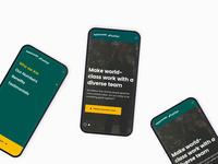 PaddyPower Betfair - Mobile Screen