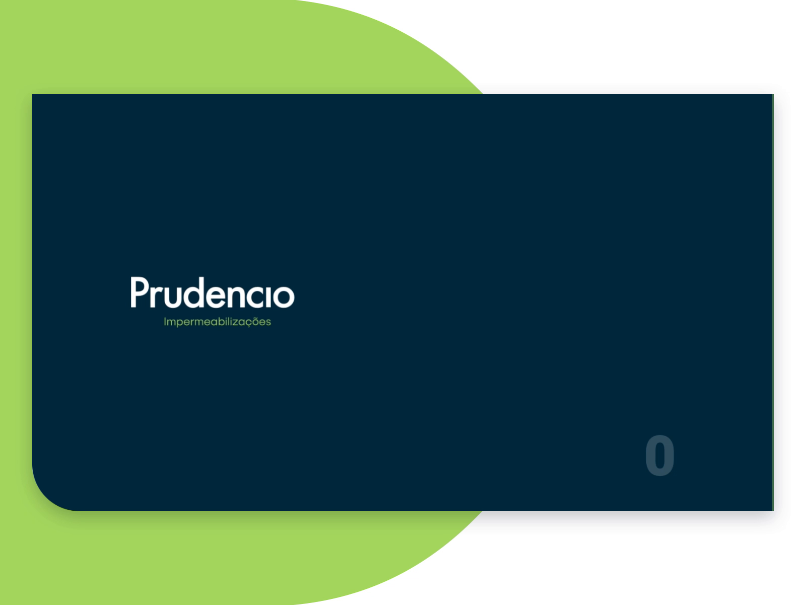 Prudencio - Homepage Intro Animation