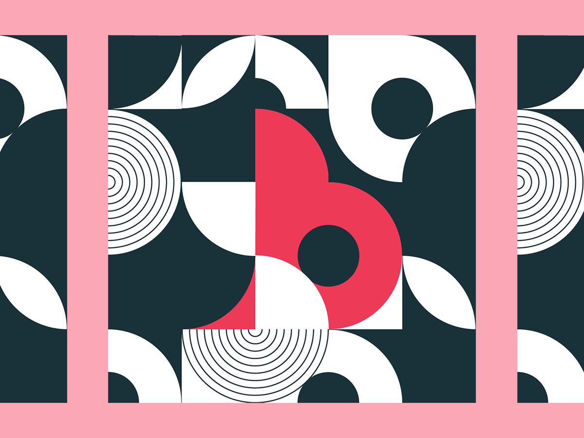 B vector design typography type 36days-b 36 days of type 36daysoftype