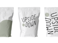 Upside Down Coffee Branding