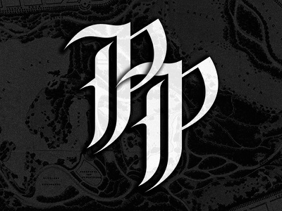 Prospect Park 2 p lettering black white vector new york brooklyn ny calligraphy typogaphy rebound
