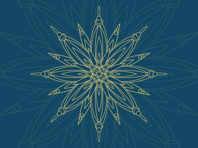 Abstract Star lines pattern vector