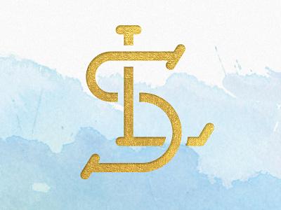 LS Monogram lettering s l design monogram