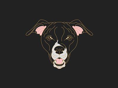 Lola Bear design line illustration line art pets illustration dog illustration dog