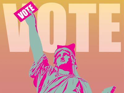"""Women's March """"Power to the Polls"""" submission"""