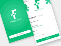 Fitness Trainer signup