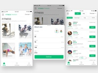 Fitness Trainer-Detail View UI/UX