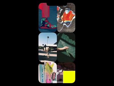 EARS APP play animation music design minimalist art iphone interface ios app ui